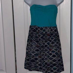 DESIGNED BY ROXY!!!! STRAPLESS DRESS NWOT